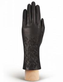 Перчатки женские (шерсть и кашемир) IS125-sh black (Eleganzza)
