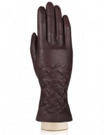 Перчатки женские (шерсть и кашемир) IS125-sh brown (Eleganzza)