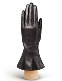 Перчатки женские (шерсть и кашемир) IS1848 black (Eleganzza)