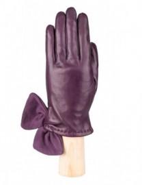 Перчатки женские (шерсть и кашемир) IS20075 d.violet (Eleganzza)