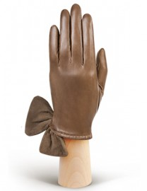 Перчатки женские (шерсть и кашемир) IS20075 taupe (Eleganzza)