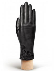 Перчатки женские (шерсть и кашемир) IS50057 black (Eleganzza)
