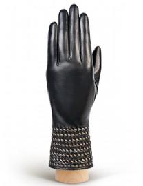 Перчатки женские (шерсть и кашемир) IS50307 black (Eleganzza)