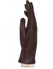 Перчатки женские (шерсть и кашемир) IS5037 brown (Eleganzza)