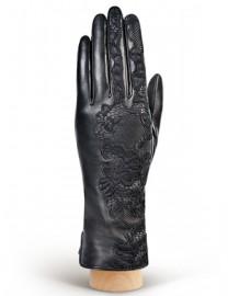 Перчатки женские (шерсть и кашемир) IS5039 black (Eleganzza)