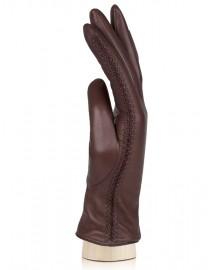 Перчатки женские (шерсть и кашемир) IS5087 brown (Eleganzza)