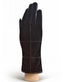 Перчатки женские (шерсть и кашемир) IS5540 black (Eleganzza)