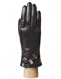 Перчатки женские (шерсть и кашемир) IS7108-K black (Eleganzza)