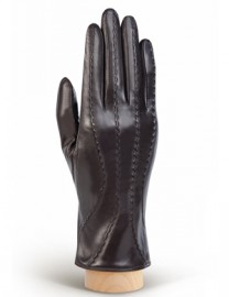Перчатки женские (шерсть и кашемир) IS92040 d.brown (Eleganzza)