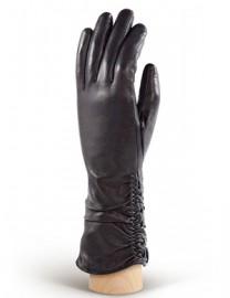 Перчатки женские (шерсть и кашемир) IS98328 black (Eleganzza)