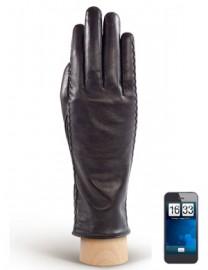 Перчатки женские (шерсть и кашемир) TOUCH HP91104 black (Eleganzza)