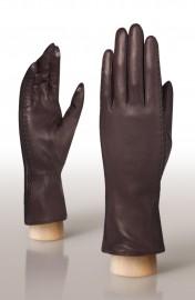 Перчатки женские (шерсть и кашемир) TOUCH HP91104 d.brown (Eleganzza)