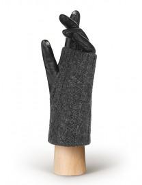 Перчатки женские (шерсть и кашемир) TOUCH IS01330 black/grey (Eleganzza)