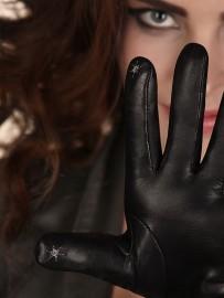 Перчатки женские (шерсть и кашемир) TOUCH IS02023 black (Eleganzza)