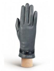 Перчатки женские (шерсть и кашемир) TOUCH IS02074 grey/d.blue (Eleganzza)