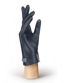 Перчатки женские (шерсть и кашемир) TOUCH IS02074 navy/l.grey (Eleganzza)