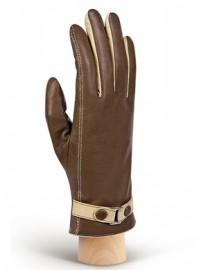 Перчатки женские (шерсть и кашемир) TOUCH IS02074 taupe/beige (Eleganzza)