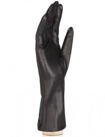 Перчатки женские (шерсть и кашемир) TOUCH IS04013 black/d.grey (Eleganzza)