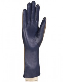 Перчатки женские (шерсть и кашемир) TOUCH IS04013 d.blue/taupe (Eleganzza)