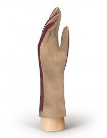 Перчатки женские (шерсть и кашемир) TOUCH IS04013 taupe/merlot (Eleganzza)