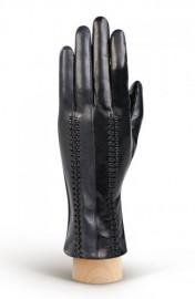 Перчатки женские (шерсть и кашемир) TOUCH IS04520 black/d.grey (Eleganzza)