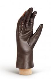 Перчатки женские (шерсть и кашемир) TOUCH IS04520 d.brown/cognac (Eleganzza)