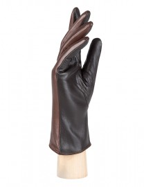 Перчатки женские (шерсть и кашемир) TOUCH IS55200 d.brown (Eleganzza)