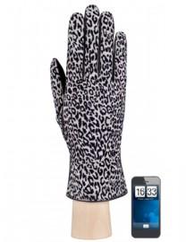 Перчатки женские (шерсть и кашемир) TOUCH IS55200 grey/black (Eleganzza)