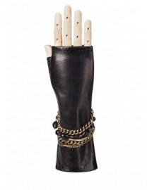 Перчатки женские подкладка из шелка 02046 black (Eleganzza)