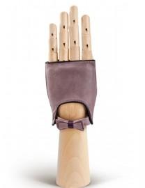 Перчатки женские подкладка из шелка 212 d.pink/amethyst (Eleganzza)