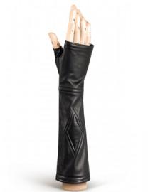 Перчатки женские подкладка из шелка 231 black (Eleganzza)