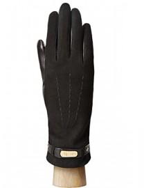 Перчатки женские подкладка из шелка HP09123 black (Eleganzza)
