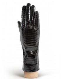 Перчатки женские подкладка из шелка HP210 black (Eleganzza)