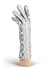 Перчатки женские подкладка из шелка HP210 l.grey (Eleganzza)