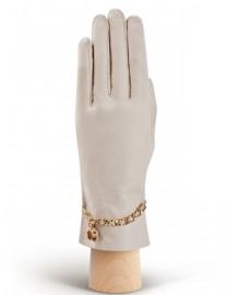 Перчатки женские подкладка из шелка HP294 beige (Eleganzza)