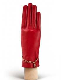 Перчатки женские подкладка из шелка HP294 coral (Eleganzza)