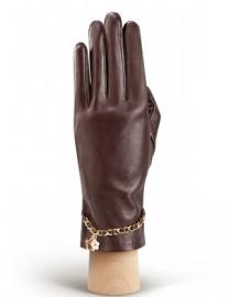 Перчатки женские подкладка из шелка HP294 l.brown (Eleganzza)