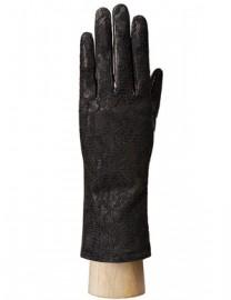 Перчатки женские подкладка из шелка IS01020 black (Eleganzza)