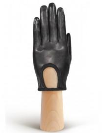 Перчатки женские подкладка из шелка IS01170 black (Eleganzza)