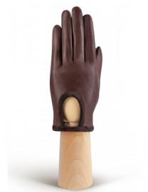 Перчатки женские подкладка из шелка IS01170 concer/d.brown (Eleganzza)