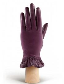 Перчатки женские подкладка из шелка IS01818 amethyst (Eleganzza)