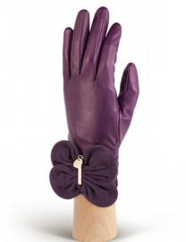 Перчатки женские подкладка из шелка IS02000 amethyst/d.violet (Eleganzza)