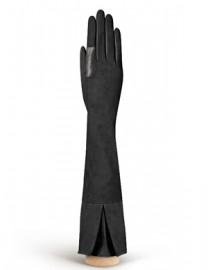 Перчатки женские подкладка из шелка IS02053 black (Eleganzza)