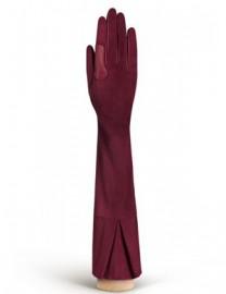 Перчатки женские подкладка из шелка IS02053 merlot (Eleganzza)