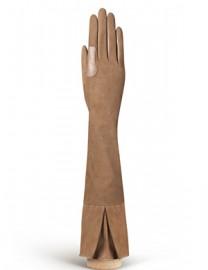Перчатки женские подкладка из шелка IS02053 taupe (Eleganzza)