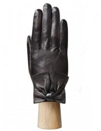 Перчатки женские подкладка из шелка IS04832 black (Eleganzza)