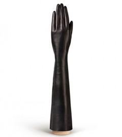 Перчатки женские подкладка из шелка IS0585 black (Eleganzza)