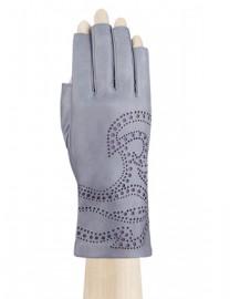 Перчатки женские подкладка из шелка IS065 l.grey (Eleganzza)