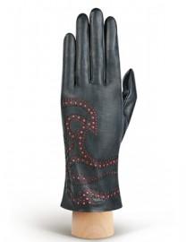 Перчатки женские подкладка из шелка IS066 grey (Eleganzza)
