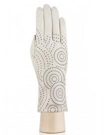 Перчатки женские подкладка из шелка IS072 beige (Eleganzza)